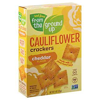 From the Ground Up Cauliflower Cheddar Cracker, 4 oz