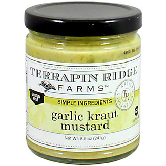 Terrapin Ridge Garlic Kraut Mustard, 8.5 OZ