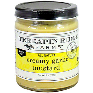Terrapin Ridge Creamy Garlic Mustard, 8 OZ
