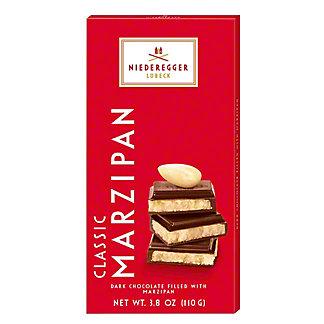 Niederegger Classic Marzipan Dark Chocolate Bar, 3.88 oz