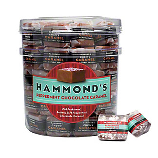 Hammond's Peppermint Chocolate Caramels , 0.75 oz