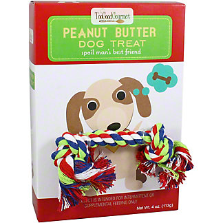 Too Good Dog Treat Rope Gifts Peanut Butter Treats, 4 OZ