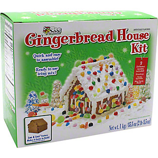 Bee International Cube Gingerbread House Kit, 35.5 oz