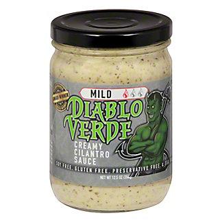 Diablo Verde Mild Creamy Cilantro Sauce, 12.5 oz