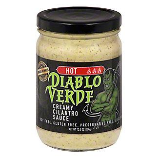 Diablo Verde HotCreamy Cilantro Sauce, 12.5 oz