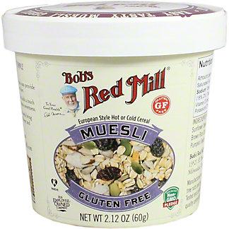 Bobs Red Mill Muesli Gluten Free Cup, 2.12 oz
