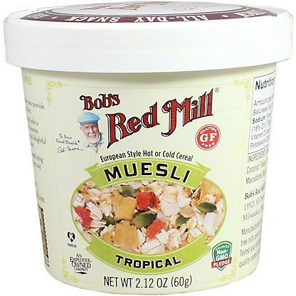 Bobs Red Mill Muesli Tropical Cup, 2.12 oz