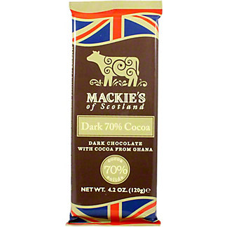 Mackies Of Scotland Dark 70% Cocoa, 4.2 OZ