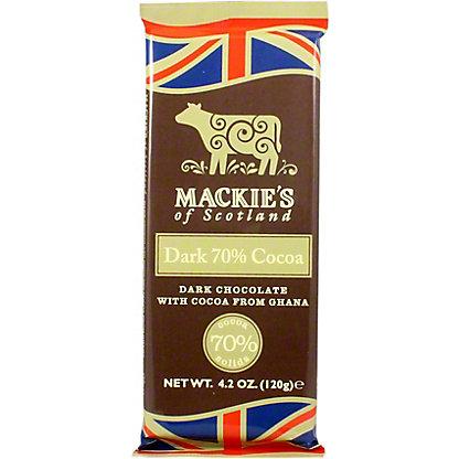 Mackie's of Scotland Dark 70% Cocoa Chocolate, 4.2 oz