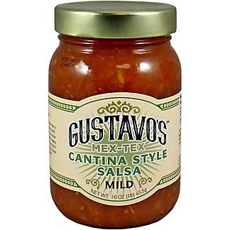 Gustavos Cantina Style Mild Salsa, 16 OZ