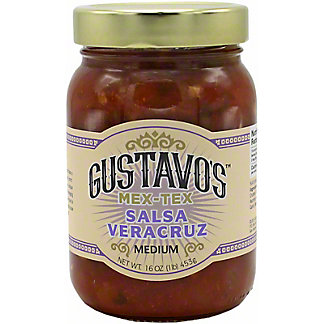Gustavos Veracruz Medium Salsa, 16 OZ
