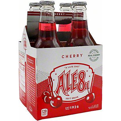 Ale 8 One Cherry Soda, 4 pk