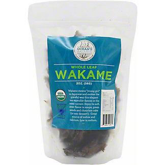 Oceans Balance Organic Whole Leaf Wakame, 2 oz