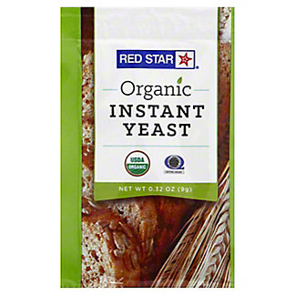 Red Star Organic Instant Yeast, .32 oz