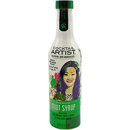 Cocktail Artist Mint Syrup, 12.6 oz