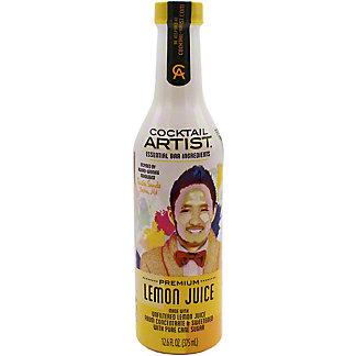 Cocktail Artist Lemon Juice, 12.6 oz