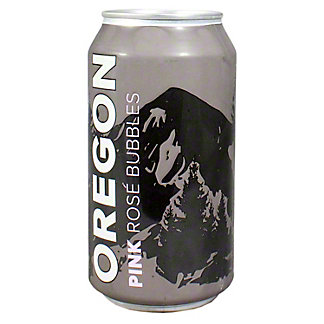 Canned Oregon Pink Bubbles, 375 ML