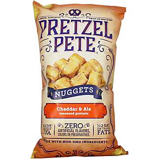 Pretzel Pete Cheddar & Ale Nuggets, 9.5 OZ
