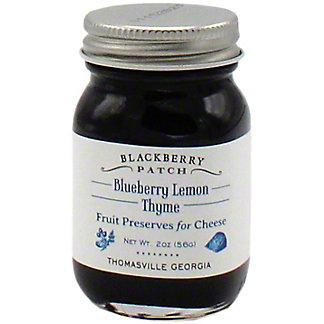Blackberry Patch Blueberry Lemon Thyme Fruit Preserves For Cheese, 2 OZ