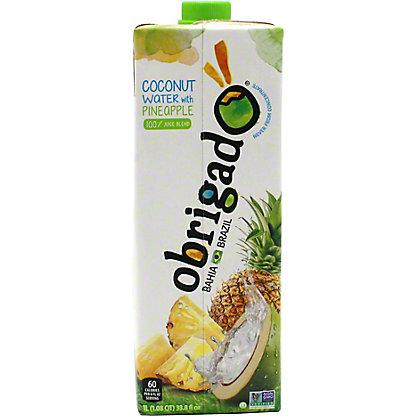 Obrigado Pineapple Coconut Water, 1 L
