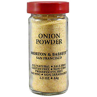 Morton and Basset Spices Onion Powder, 2.3 oz