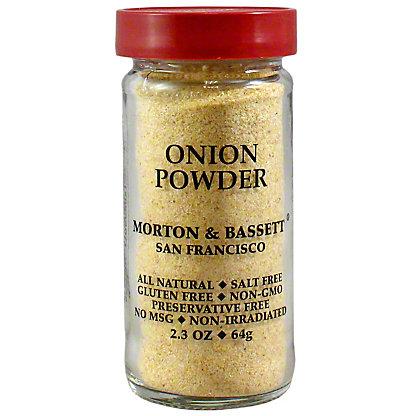 Morton and Basset Spices Onion Powder, 2.3 oz