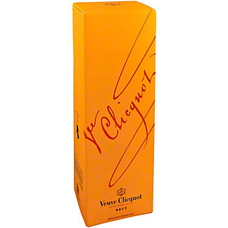 Veuve Clicquot Yellow Brut Gift Box, 750 mL