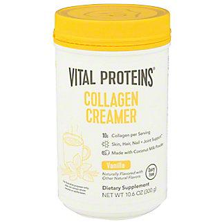 Vital Proteins Vanilla Collagen Creamer Powder, 10.6 oz