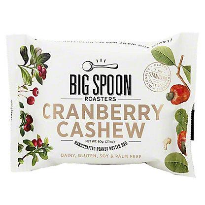 Big Spoon Roasters Nut Butter Cranberry Cashew Bar, 60 g
