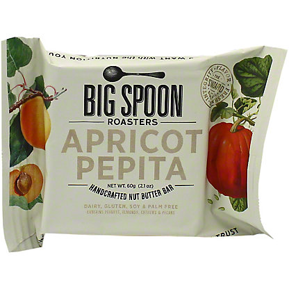 Big Spoon Roasters Nut Butter Apricot Pepita Bar, 60 g
