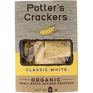 Potters Crackers Classic White Crackers , 5 OZ