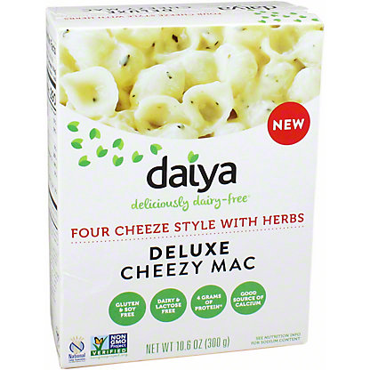 Daiya Deluxe Four Cheeze Style with Herrbs Cheezy Mac, 10.9 OZ