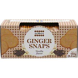 Nyakers Vanilla Gingersnaps, 5.3 oz