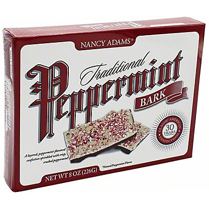 Nancy Adams Traditional Peppermint Bark Trees, 8 oz