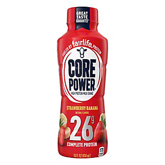 Core Power Strawberry Banana Complete Protein Milk Shake, 14 oz