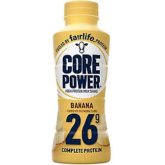 Core Power 26g Banana High Protein Milk Shake, 14 oz