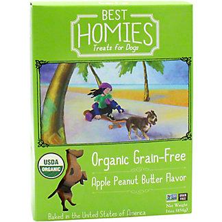 Best Homies Dog Treats Apple Peanut Butter, 16 OZ