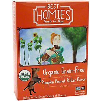 Best Homies Pumpkin Peanut Butter Flavor, 16 oz
