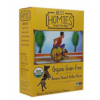 Best Homies Peanut Butter Banana Dog Treats, 16 oz
