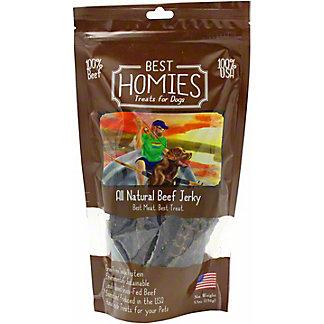 Best Homies Dog Treats Beef Jerky, 5.5 OZ