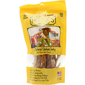 Best Homies Dog Treats Chicken Jerky, 5.5 OZ