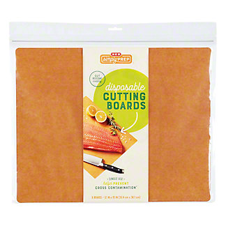 Simply Prep by H-E-B Disposable Cutting Boards, 6 ct