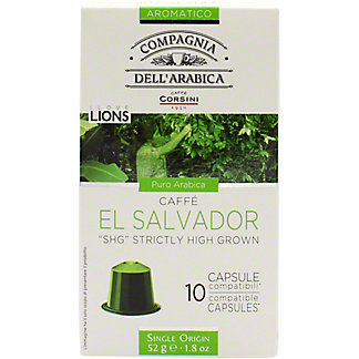 Corsini Coffee Pods Salvador, .18 OZ