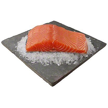 Fresh Norwegian Salmon Fillet, lb