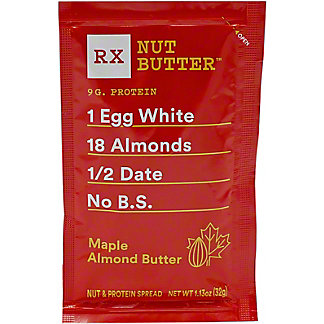 Rx Nut Butter Maple Almond Butter , 1.13 oz