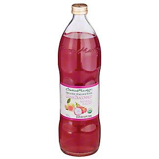 Central Market Guava Dragonfruit Organic Italian Soda, 750 mL