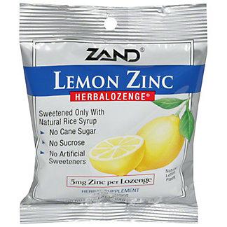 ZAND Herbalozenge Lemon Zinc Lozenge, 15 ct