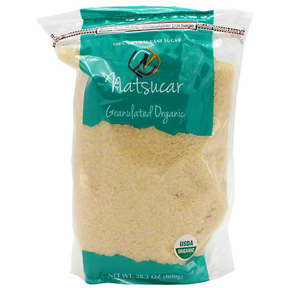 Natsucar Organic Granulated Sugar, 28.2 oz