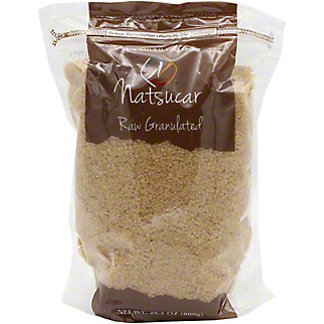 Natsucar Sugar Raw Granulated, 29.2 OZ