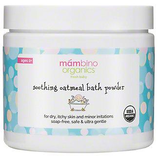 Mambino Organics Sooth Oatmeal Bath Powder, 6 OZ